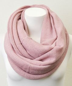 Look at this #zulilyfind! Leto Collection Mauve Infinity Scarf by Leto Collection #zulilyfinds