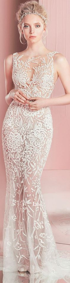 ♔ZUHAIR MURAD S/S 2016 - it needs to be FULLY lined, but would make a great wedding dress.