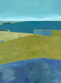"""""""Central Valley Farmlands"""" - Janet Bludau"""