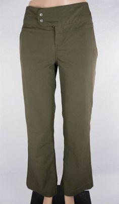 LULULEMON Carry Less Pants Sz 10 Green Pinstripe Work Play #Lululemon #PantsTightsLeggings