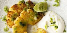 pineapple with basil - sounds and looks delicious