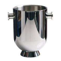 Trombone Champagne Cooler. British designer Nick Munro drew inspiration from Ronnie Scott's legendary London jazz club and trombone instruments for his stunning collection of barware. Every detail of this steel champagne bucket accessory directly relates to the brass instrument. $199.00
