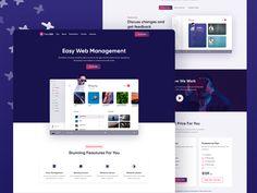 Trendkit - Digital Agencies & SaaS Template by creabik Management, Change, Templates, Digital, Amazing, Stencils, Vorlage, Models