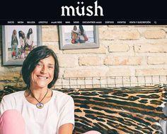Entrevista a Gloria, nuestra diseñadora, en la revsta Müsh