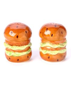 Take a look at this Hamburger Salt & Pepper Shaker Set by Design Imports on #zulily today!