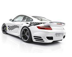 Sticker auto Racing