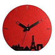 "15.4""H Morning of Paris Wall Clock – GBP £ 39.61"