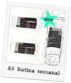 A5 Farmacia: Nueva rutina semanal con productos A5 Farmacia http://a5farmacia.blogspot.com.es/2013/08/nueva-rutina-semanal-con-productos-a5.html