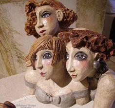 Véronique DIDIERLAURENT, ceramic sculpture, Souris de bibliothèque : «Des provisions pour la route…»