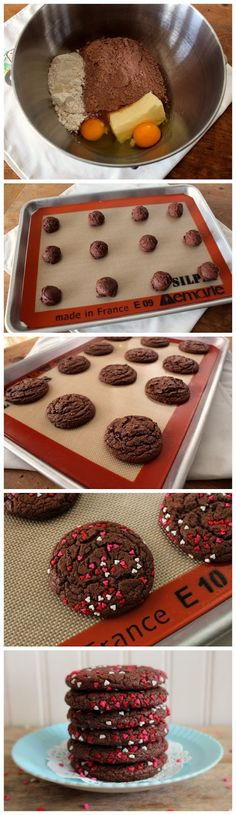 Best of Recipe: Easy Cake Mix Cookies Cake Mix Recipes, Sweets Recipes, Cookie Recipes, Cake Mixes, Cookie Ideas, Holiday Desserts, Just Desserts, Cake Mix Cookies, Baking Cookies