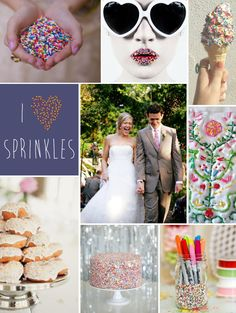 Mood Board Monday: Sprinkles http://blog.hgtv.com/design/2014/06/23/mood-board-monday-sprinkles/   http://idealshedplans.com/backyard-storage-sheds/
