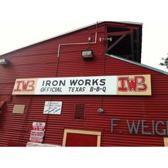 Iron Works BBQ in Austin, TX-where I fell in love w/brisket!