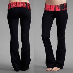 best yoga pants I've ever seen! USMC