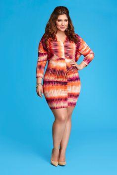 Santana Printed Dress