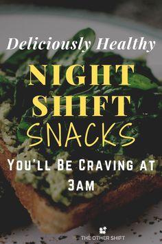What night shift snacks do you crave in the middle of your shift? Inside this post we give you 10 healthy night shift snack ideas to get you excited for your shift. We know that night shift weight gain is a real reality for some people and these night shift meal ideas will help both your waistline and tastebuds. #nightshiftnurse #thenightshift #nightshifttips #workingnightshift #nightshiftdiet #mealprep
