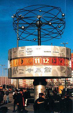 World Clock in Alexanderplatz (plaza in Berlin)