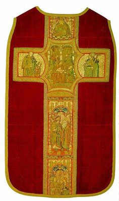 Early 16th century embroidered chasuble, made in Flanders (Hermitage Museum)