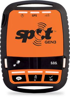 SPOT - When your adventures take you beyond cell service, SPOT GEN3® lets family and friends know you're ok or sends emergency responders your GPS location, all at the push of a button.