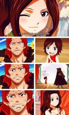 I loved this.... In one realization Gildart's life is made complete by being a daddy.... And he immediately loves on Cana... Because that's what daddy's do.