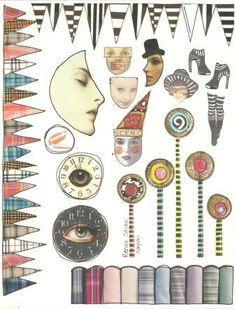 zetti image sheet by nayski (Renee Stien), via Flickr