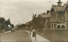 Ham Road, Worthing - Looking North