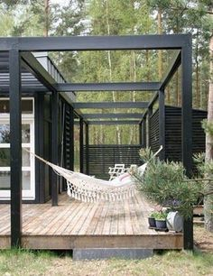 Image result for modern pergola cable