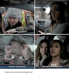 """""""We did not kidnap her"""" - Iris and Cailin #TheFlash"""