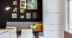 L'espace de vie familiale est maintenant lumineux, invitant et chaleureux! Küchen Design, House Design, Interior Design Living Room Warm, Cozy Basement, Home Ceiling, Modern House Plans, House Made, Home Decor Styles, Decoration