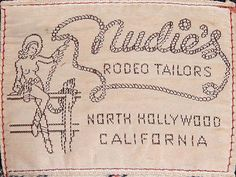 Nudie's Rodeo Tailors label