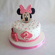Pasta Diyarı: Minnie Mouse Pastası