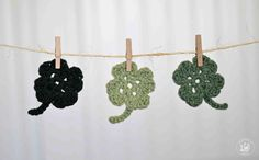 The Easiest Shamrock Crochet Pattern Ever