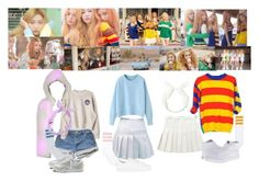 """Red Velvet - Ice Cream Cake"" by marissa-malik ❤ liked on Polyvore featuring Vans, J. Valentine, adidas Originals, American Apparel and Reebok"