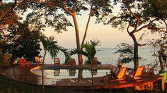 Cala Mia, a boutique hotel located in the Chiriqui National Marine Park in Panama.