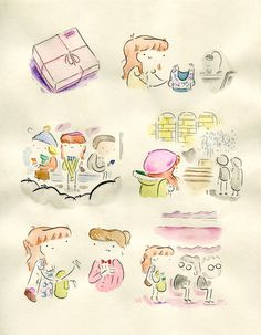 Blog: A Watercolor Diary - Doodlers Anonymous