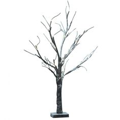 65cm Brown LED Tree