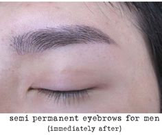 HD semi permanent eyebrows