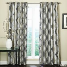 Franklin Grommet Top 84-inch Curtain Panel | Overstock.com Shopping - Great Deals on Veratex Curtains