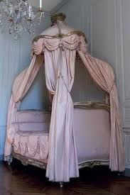 Image result for toile de jouy half  bed canopy