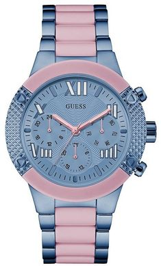 Pink and Blue Show-Stopping Sport Watch