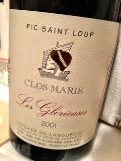 El Alma del Vino.: Clos Marie Les Glorieuses 2001.
