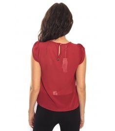 RINASCIMENTO Blusa / Top maniche corte RED Art. CFC0069665003