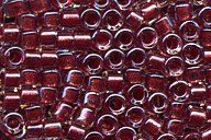 60% Off MIYUKI® 11/0 DELICAS 0924 Sparkling Cranberry Lined - 5 gram bag - Size 11 - pinned by pin4etsy.com