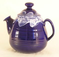 Handmade Wheel Thrown Ceramic Pottery Teapot by QuailCanyonGallery, $95.00
