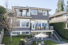 3806 sqft of living space over 3 floors, with amazing views!! 4488 Puget Dr. Vancouver