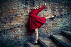 the world is your studio - For this shoot we asked choreographer Helen Brock to…
