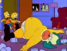 Food is love The Simpsons, Simpsons Characters, Disney Characters, Krusty, Goat Cartoon, Best 90s Cartoons, Bojack Horseman, Letting Go Of Him, Bobs Burgers