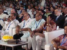 जयपुर में आयोजित तीन दिवसीय Global Rajasthan AgriTech Meet 2016 के उद्घाटन समारोह में सम्मलित होने का अवसर प्राप्त हुआ। माननीय मुख्यमंत्री श्रीमती वसुंधरा राजे जी को मैं इस ऐतिहासिक पहल के लिए सभी प्रदेशवासियों, किसान भाइयो की ओर से धन्यवाद देता हूं।