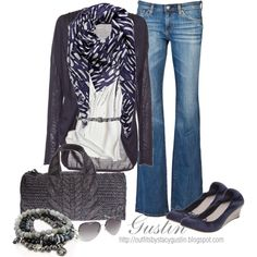 """""""cardigan"""" by stacy-gustin on Polyvore"""