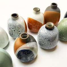 Experiments spotted in the Heath Clay Studio...