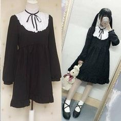 "Kawaii lolita ruffled dress SE9092   Coupon code ""cutekawaii"" for 10% off"